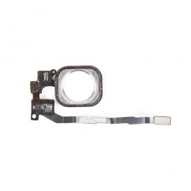 Nappe + Bouton Home Blanc - iPhone 5S / SE